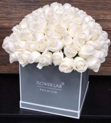 Коробка «Белая Роза»