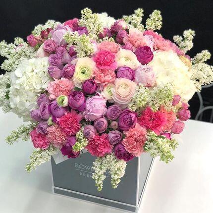 Цветы в кубе «Сад»